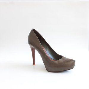 SCHUTZ Designer Platform High Heels Shoes Gray 10